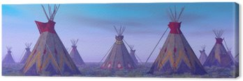 Obóz Indian at Dawn