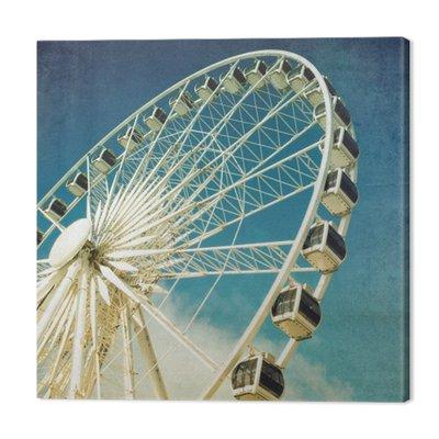Ferris wheel retro