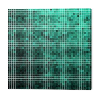 Wektor abstrakcyjna pikseli kwadratowych mozaiki tła