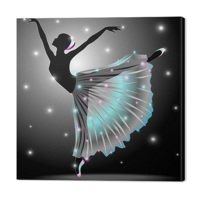 Ballerina Danza Classica-Classic Star Dance Dancer-Vector
