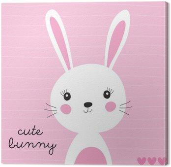 Słodki króliczek ilustracji wektorowych