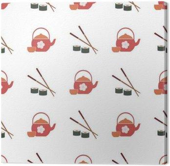 Jednolite tło z japońskich symboli dla projektu