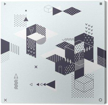 Streszczenie nowoczesne geometryczne tle