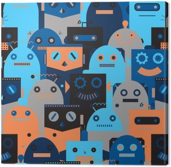 Jednolite wzór z rocznika robotów