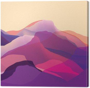 Kolor mountians, fale, streszczenie powierzchni, nowoczesne tło, wektor projektowania Ilustracja do projekcji