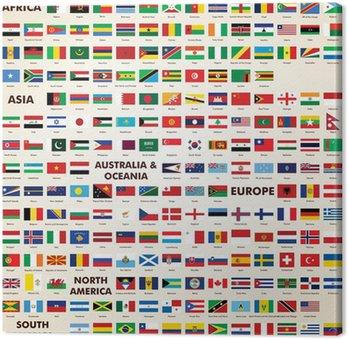 Flagi świata, flagi spakować świat