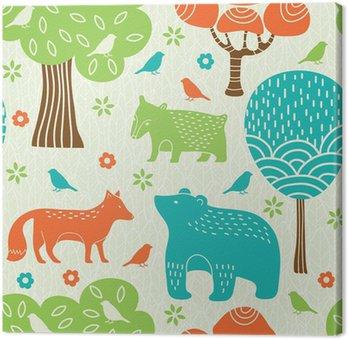 Zwierzęta leśne powtarzalne