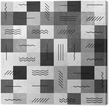 Monochromatycznych retro szwu z liniami