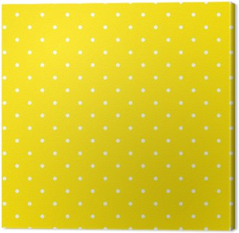 Yellow polka dot background pattern