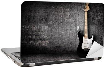 Gitara elektryczna i ściany