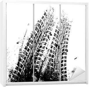 Nálepka na Skříň Grafika