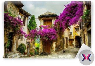 Sztuki piękne stare miasto w Prowansji