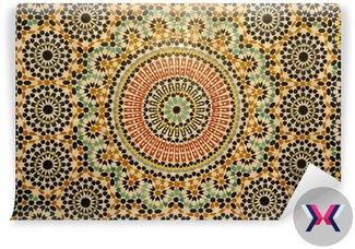 Orientalne mozaiki dekoracji w Maroku