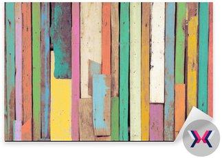 Kolorowa grafika malowane materiału drzewnego dla rocznika tle tapety.